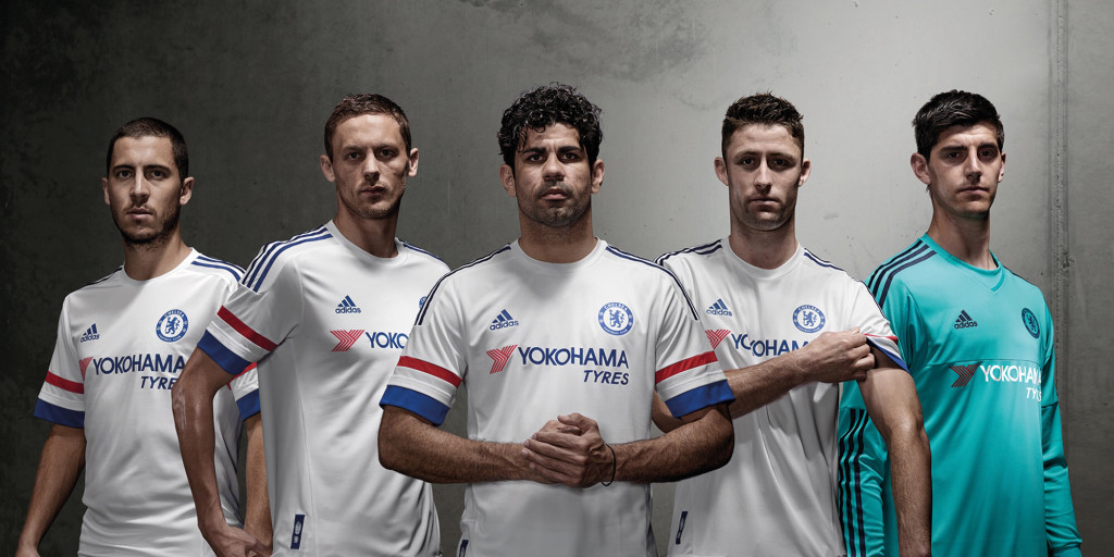 Chelsea Away Shirt Hero Image