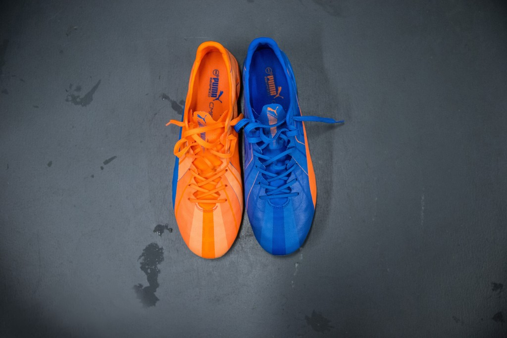 PUMA Launched the new H2H Duality evoSPEED Football Boots in Orange and Blue_2
